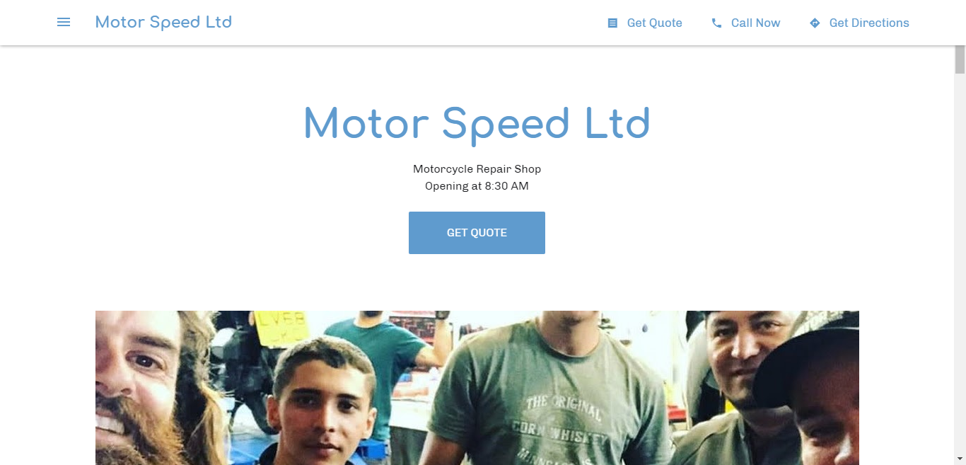 Motor Speed Ltd