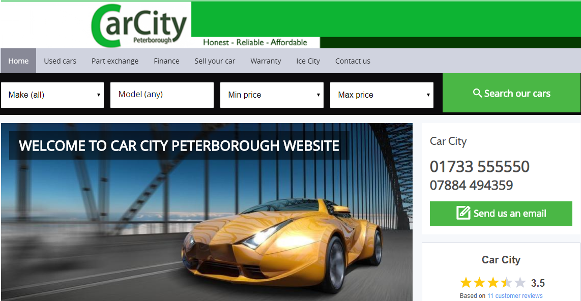 Car city Peterborough