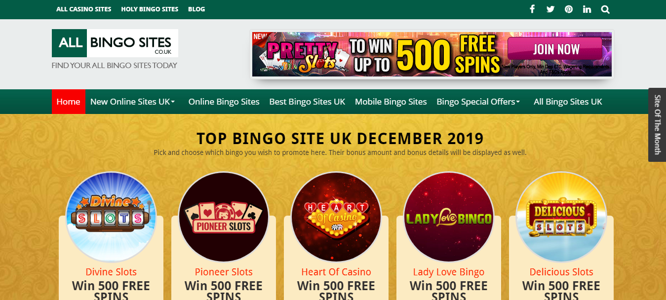 Bingo Site Reviews