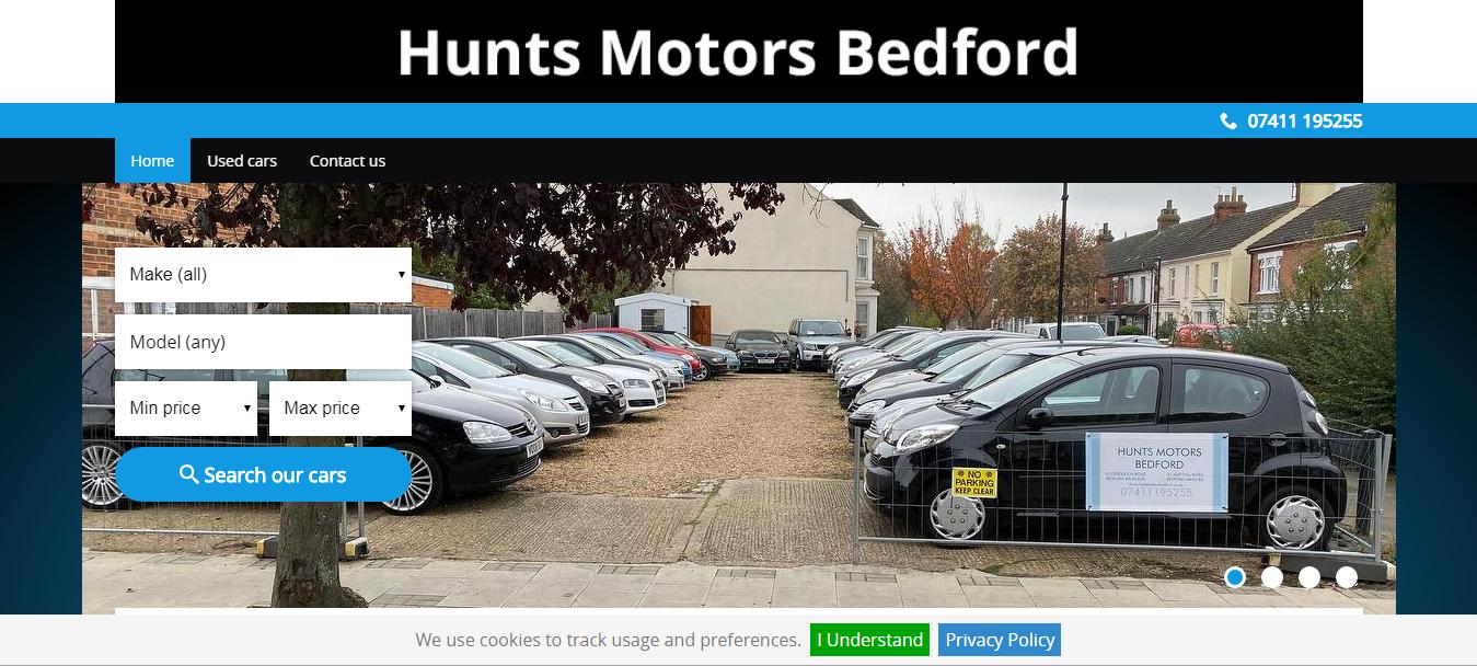 Hunts Motors Bedford