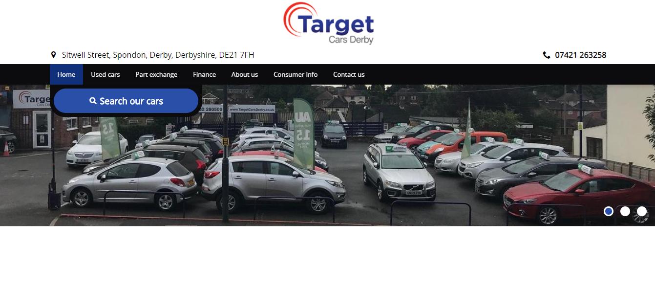 Target cars derby