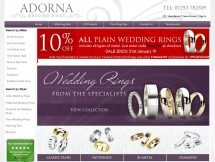 adorna wedding rings