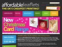 Affordable Leaflets