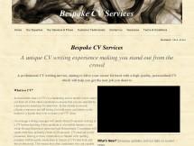 Bespoke CV Services