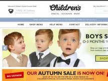 Childrens Special Occasion Wear