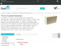 Dealhut - Thermal insulated Plasterboards
