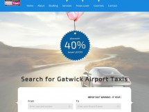 gatwick taxi booking