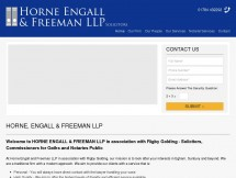 Horne Engall and Freeman LLP