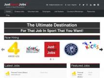 Just Sport Jobs