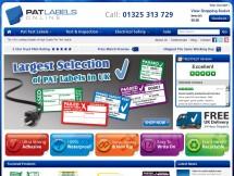 PAT Labels Online