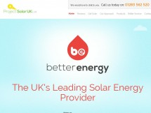 Project Solar UK Introducing Better Energy