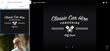 Classic Car Hire Yorkshire