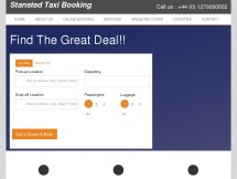 stansted taxi booking