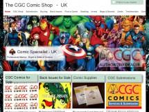 The CGC Comic shop